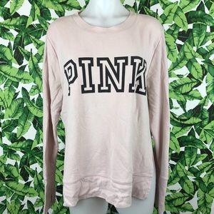 5 for $25 PINK VS Light Pink Logo Sweatshirt